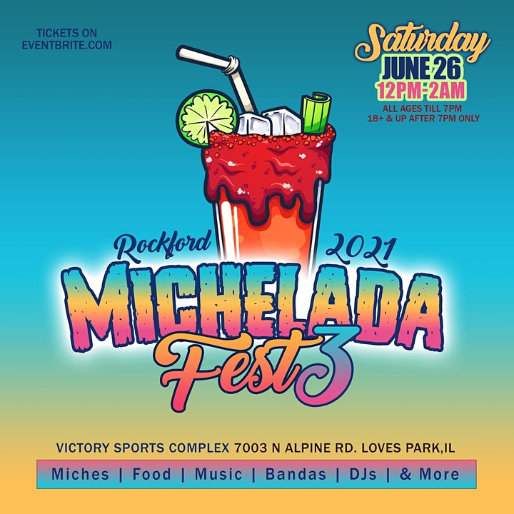 Michelada + Taco Fest #3 Rockford Edition image