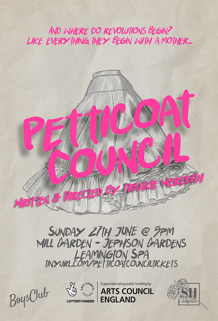 SOLD OUT - 3PM SHOW ADDED! Petticoat Council @ Jephson Gardens image