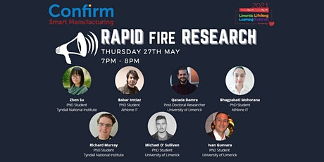 CONFIRM Centre - Rapid Fire Research tickets