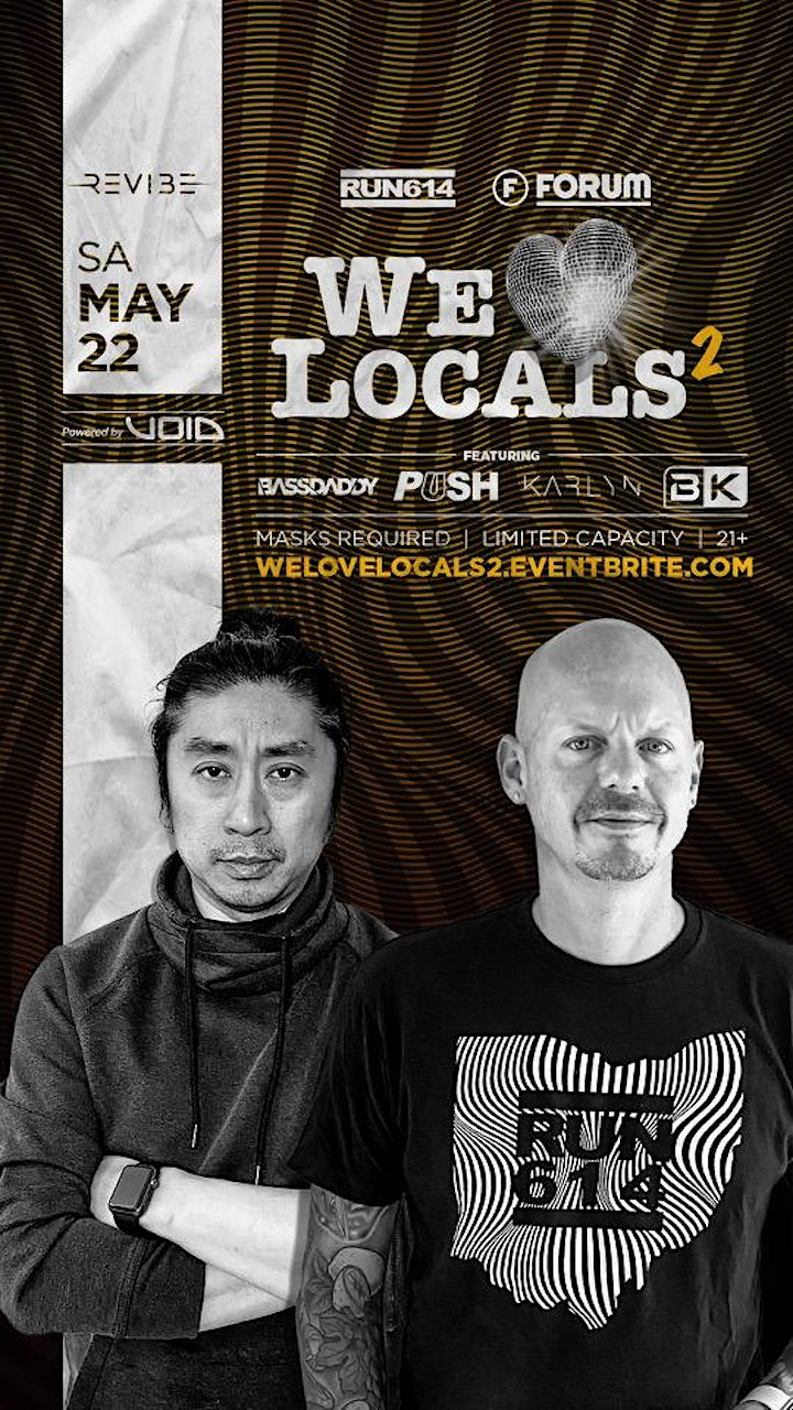 WE LOVE LOCALS presented by REVIBE at The Forum image