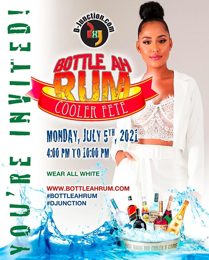 Bottle ah Rum Cooler Fete image