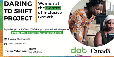 Daring to Shift Project Launch tickets