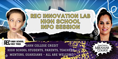 REC High School Incubator Info Session  Summer 2021 tickets