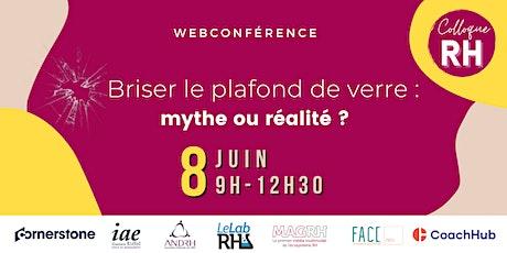 Colloque RH 2021 - Briser le plafond de verre : mythe ou réalité ? billets