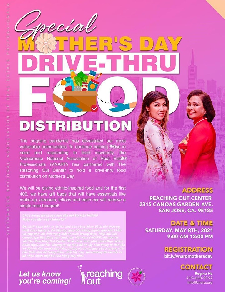 VNARP  Mother's Day Food Distribution image
