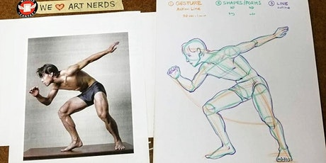 Figure Drawing 2 (13+) Art Intensives for Teens tickets