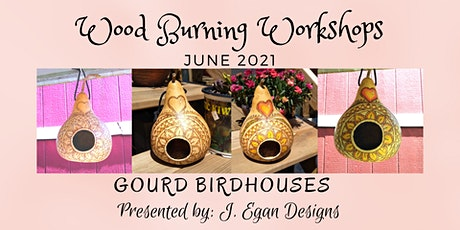 Wood Burning Workshop - June 2021 Gourds tickets