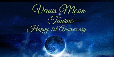 New Moon Online Gathering - Venus Moon in Taurus - the 1st Year Anniversary tickets