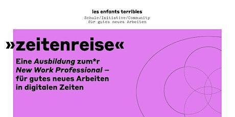 Ein Info- + Kennenlern-Abend für die Ausbildung zum*r New Work Professional Tickets