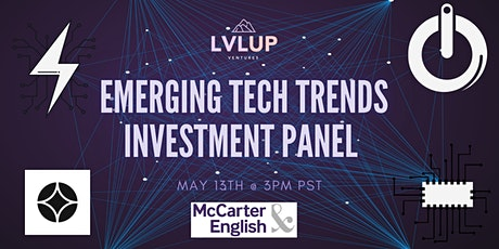 Emerging Tech Investment Panel tickets