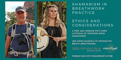 Shamanism in Breathwork Practice: Ethics & Considerations tickets