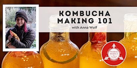 FREE ONLINE CLASS -  Kombucha Brewing 101 tickets