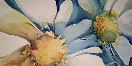 "Putting the ""Flow"" in Flowers: Watercolor Painting Class tickets"