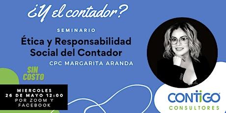 Conferencia: Ética y Responsabilidad Social del Contador boletos