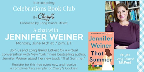 Celebrations Book Club by Cheryl's Cookies® Produced by Long Island LitFest tickets