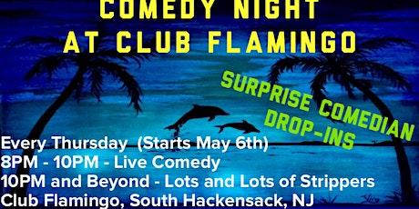 Comedy Night at Flamingos! tickets