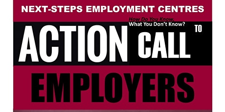 ACTION CALL to EMPLOYERS: Information Session, During COVID 19 tickets
