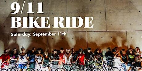 9/11 Bike ride tickets