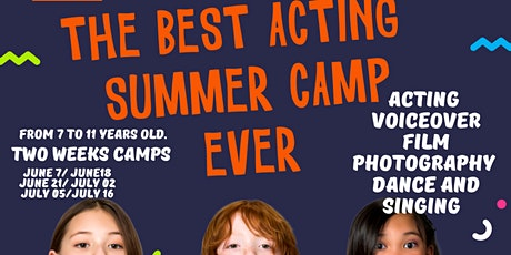 ACTING SUMMER CAMP (TWO WEEKS CAMP) 7y to 11y tickets