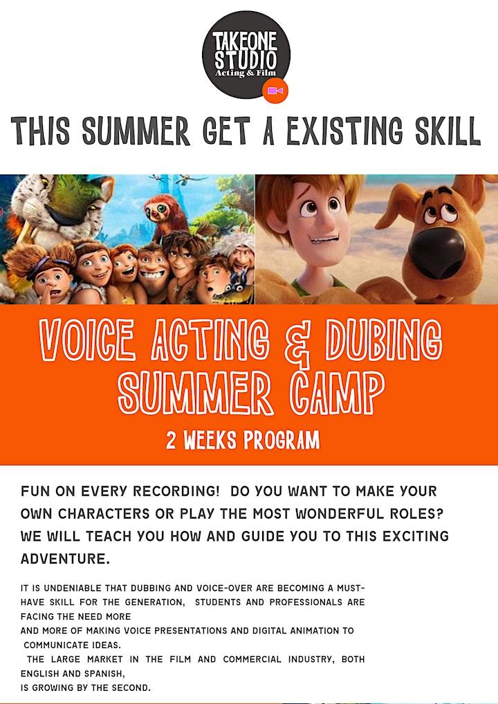 ACTING SUMMER CAMP (TWO WEEKS CAMP) 7y to 11y image