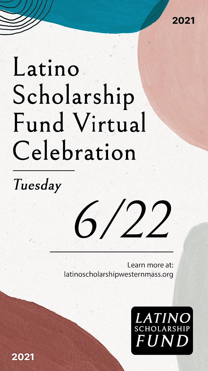 Latino Scholarship Fund Virtual Celebration image