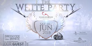 The Annual White Party at Charlesmark Hotel Lounge Sat...