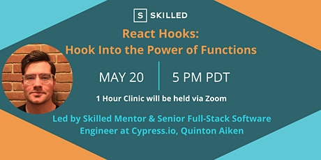 Skilled Clinic : : React Hooks: Hook Into the Power of Functions tickets