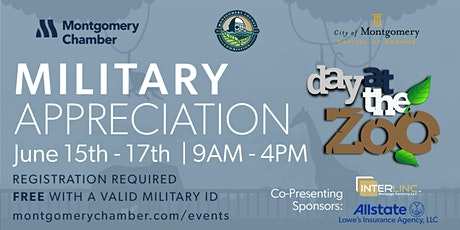 Military Appreciation Day at the Zoo tickets