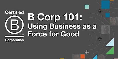 B Corp 101 tickets