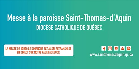 Messe Dimanche - 10 h 30 - Retransmission Salle de Rame billets
