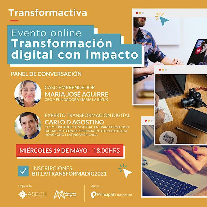 Imagen de Evento Transformación Digital con Impacto