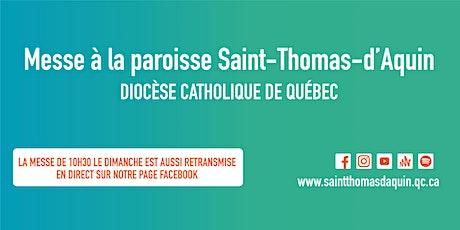 Messe Dimanche 10 h 30 - POUR LES FAMILLES SEULEMENT Sous-sol billets