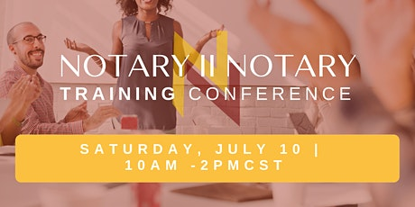Notary Training Conference Chicago, Illinois tickets