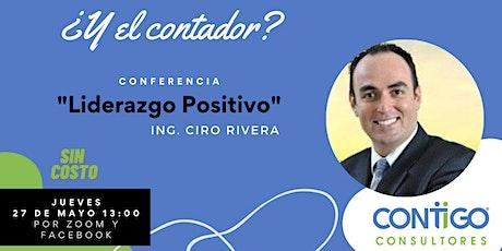 Conferencia: Liderazgo Positivo entradas
