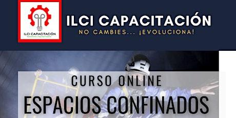 """Curso Gratuito """"Espacios Confinados"""" Guatemala entradas"""