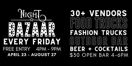 Friday Night BAZAAR: Shop & Sip tickets