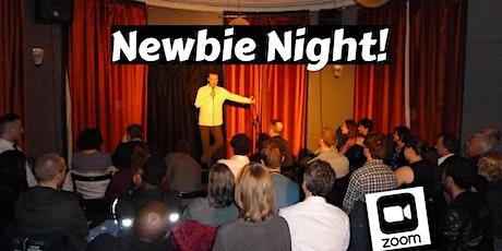 Upstairs Comedy Newbie Night! tickets