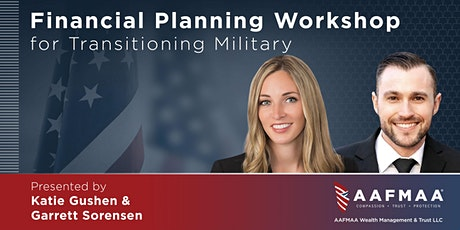 Financial Planning Workshop for Transitioning Military tickets