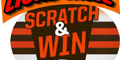 Scratch and Win Lottery tickets