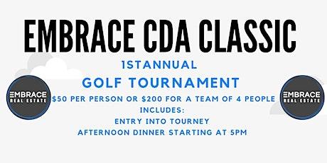 Embrace CDA Classic Golf Tournament tickets