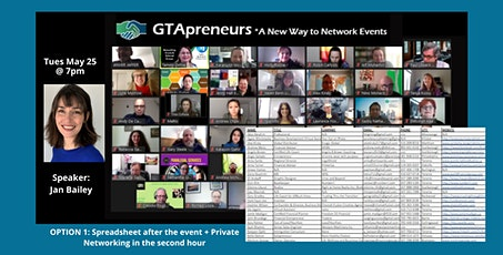 """GTApreneurs Evening Online Networking Event - """"Level up Your Live!"""" tickets"""