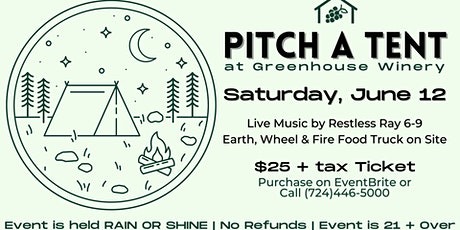 Pitch A Tent Night tickets