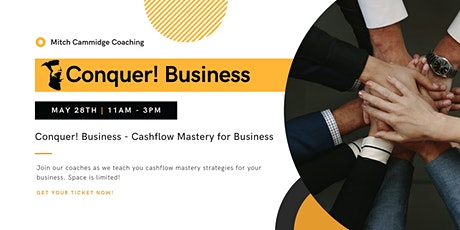 Conquer! Business - Cashflow Mastery for Business tickets