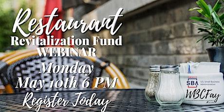 Restaurant Revitalization Fund Webinar tickets