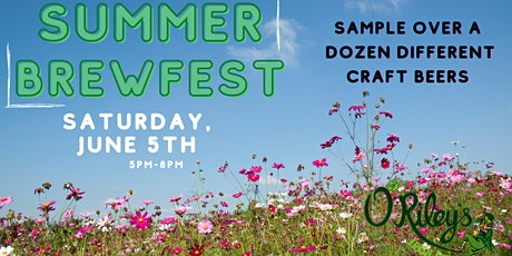O'Riley's Summer Brewfest 2021 tickets