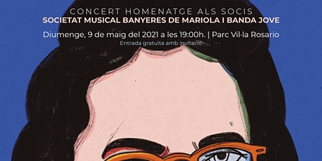 Concert SMBM 9 de maig 2021 Parc Vil.la Rosario entradas