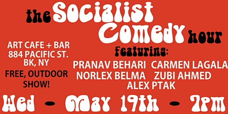 The Socialist Comedy Hour! Free Show & Fundraiser for a BK Homeless Shelter tickets