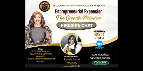 Economic Empowerment Chat with Tamala Austin on Entrepreneurial Expansion tickets