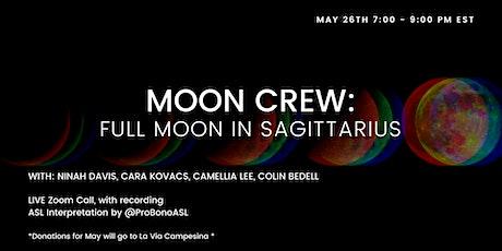 Full Moon in Sagitarrius tickets