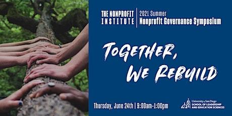 2021 Summer Nonprofit Governance Symposium tickets